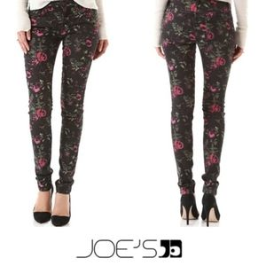 Joe's Jeans the skinny electric floral jeans 30